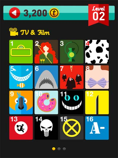 icon pop quiz answers tv & film level 2