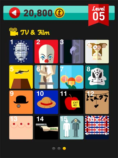 icon pop quiz answers tv & film level 5