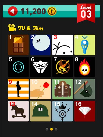 icon pop quiz answers tv and film level 3