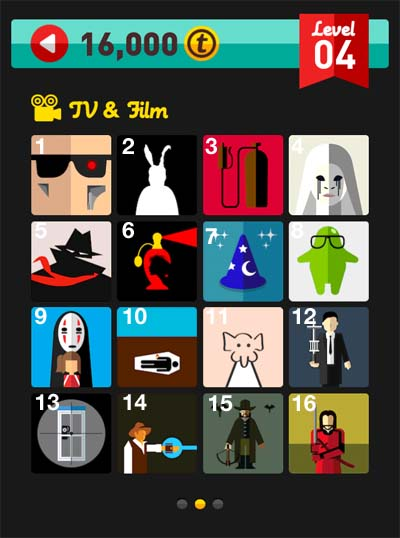 icon pop quiz answers tv & film level 4