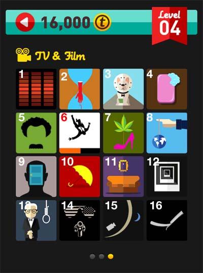 icon pop quiz answers tv & film level 4
