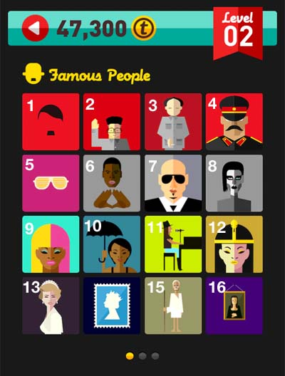 Icon Pop Quiz Answers Famous People Level 2 Icon Pop Answers