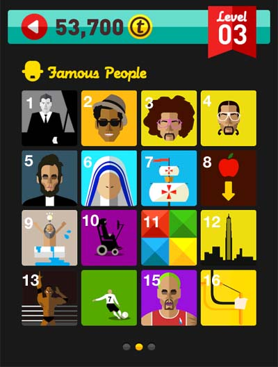 Icon Pop Quiz Answers Famous People