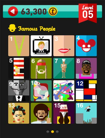 icon pop quiz answers famous people level 5