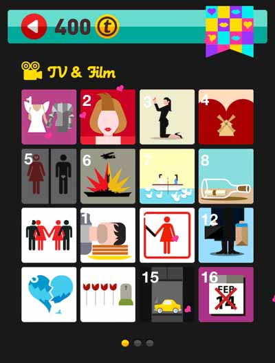 quiz answers holiday level icon pop quiz answers love level