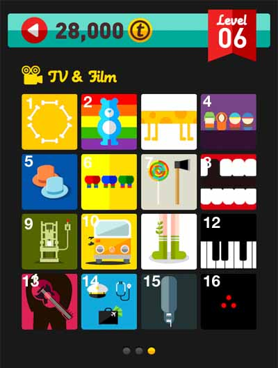icon pop quiz answers tv and film level 6