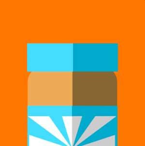 A jar of peanut butter