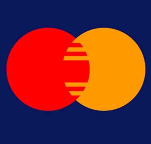 Red and orange circles.