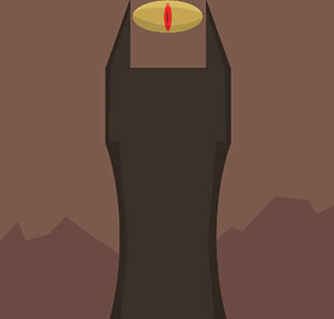 Icomania tv black dress syringe