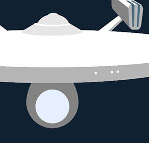 Alien space ship.