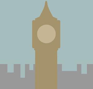London clock tower.