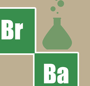 Chemical compounds Br and Ba