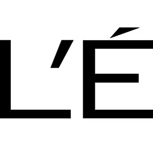 The letter L with an apostrophe and accented e.