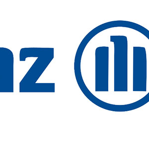 A white background with blue letters. One showing Z and a circle with three lines in the middle