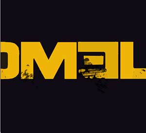 The letters M E L in yellow