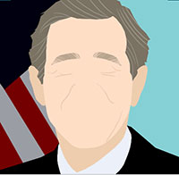 IcoMania Answers George W Bush
