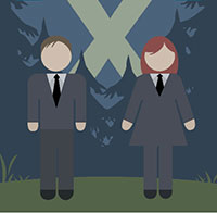 IcoMania Answers Mulder and Scully