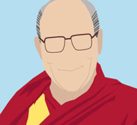 IcoMania Answers Dalai Lama