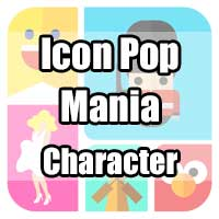 icon pop mania answers character
