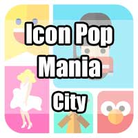 icon pop mania answers city