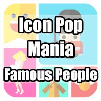 icon pop mania answers famous people
