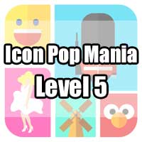icon pop mania answers level 5