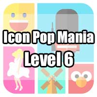icon pop mania answers level 6