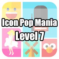icon pop mania answers level 7