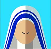 IcoMania Answers Mother Teresa