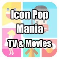 icon pop mania answers tv and movie