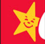 A gold star  The answer is: Carls Jr.