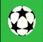 A soccer ball   The answer is: UEFA Champions League