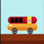 A Hot Dog car  The answer is: Oscar-Mayer
