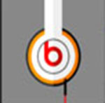 A pair of headphones   The answer is: Beats