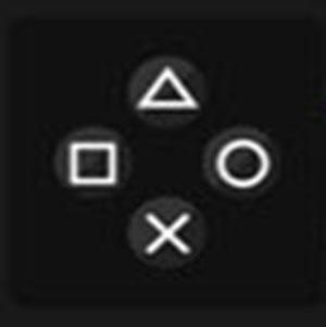 A PS3 controller .