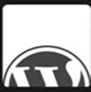 WordPress symbol .