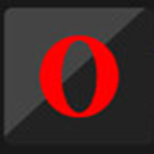 A red letter O .