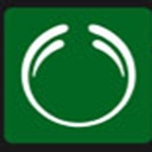 A green circle .