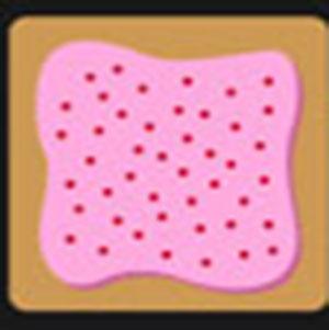 A pink pop-tart.