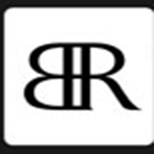 The letters B and R.