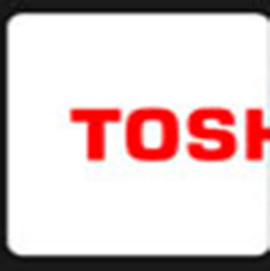 Red lettering TOSH .