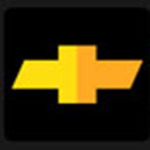 A gold car symbol .