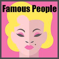 icon pop quiz famous people